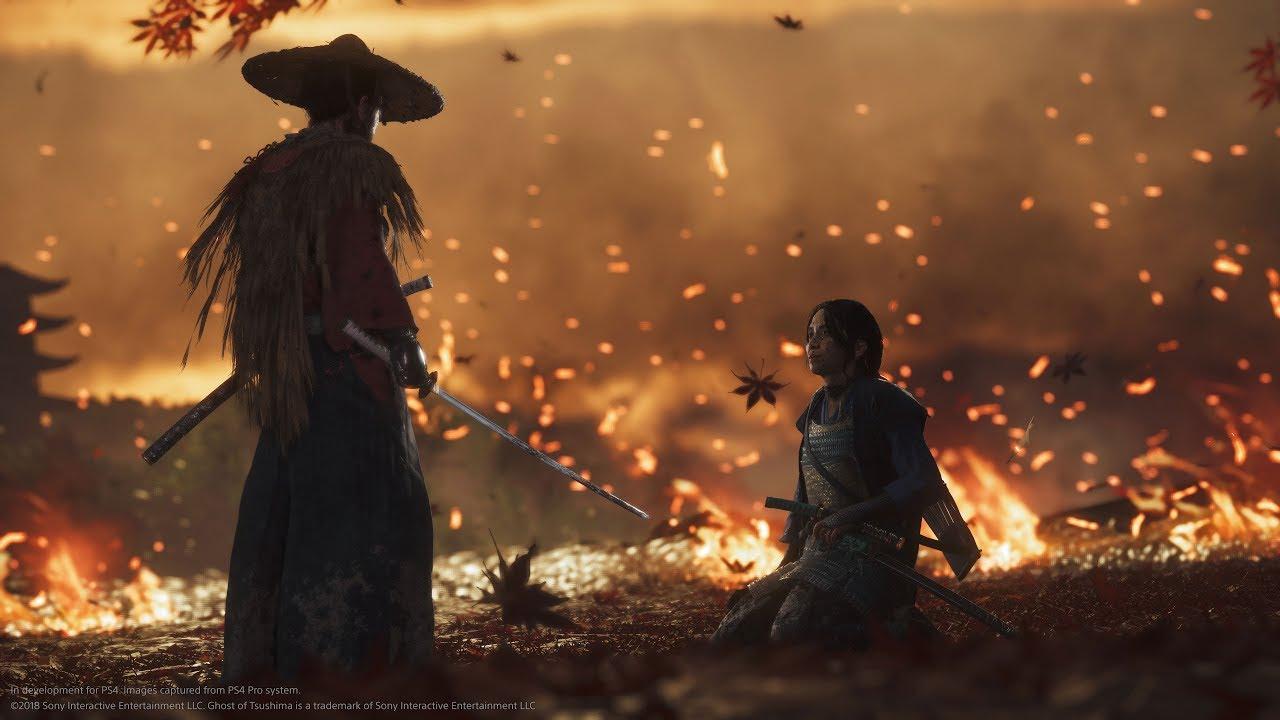 E3 2018: Ghost of Tsushima - Gameplay Trailer