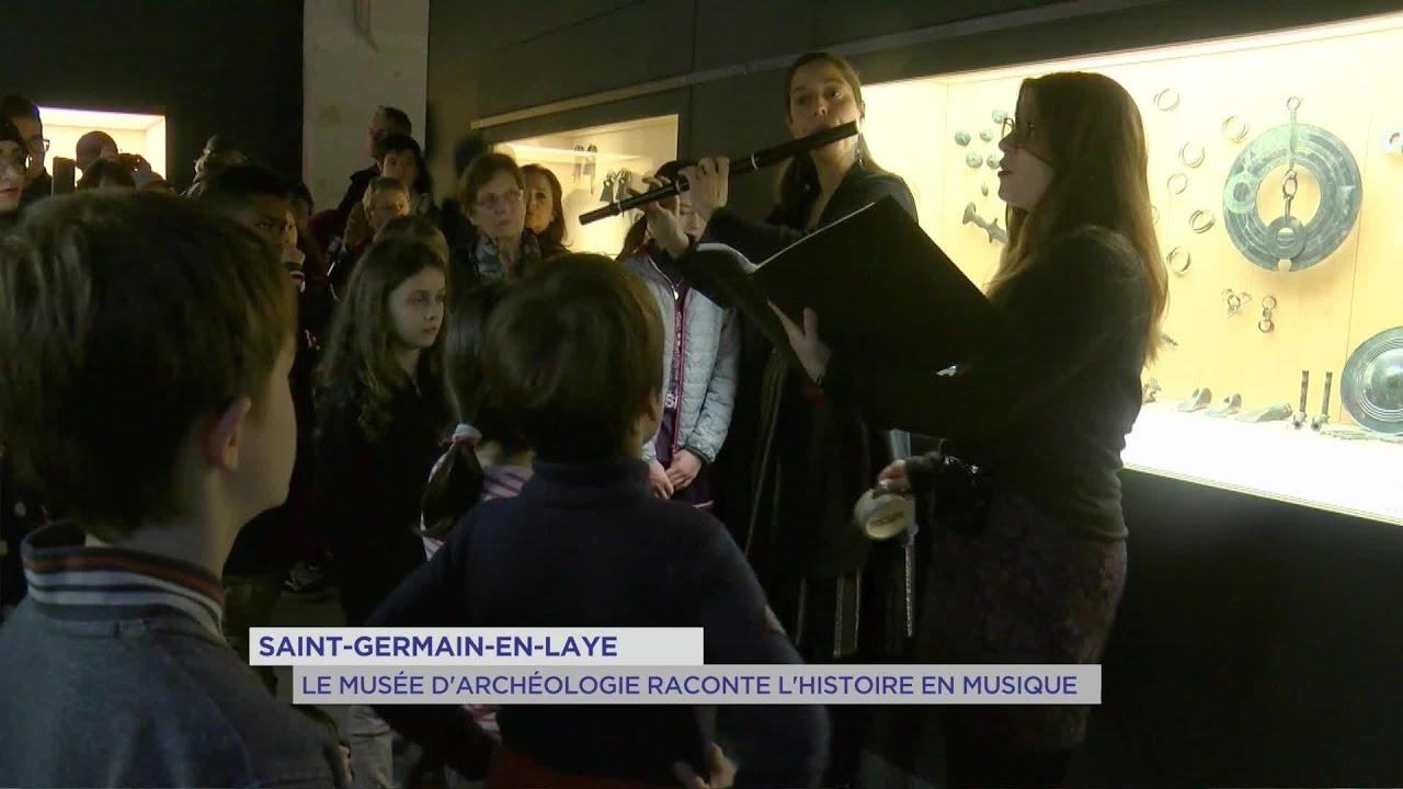 Yvelines | St-Germain : le musée d'archéologie raconte l'histoire en musique