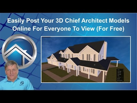 View and Walk Through Your Chief Architect 3D Models Online Using SketchFab