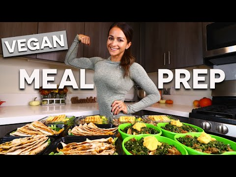 Quick VEGAN MEAL PREP | High-Protein 💪