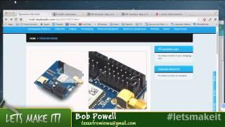 Arduino's and GPS tracking Episode - Let's Make It - Episode 53 - Tech-Zen.tv - Alixa.tv