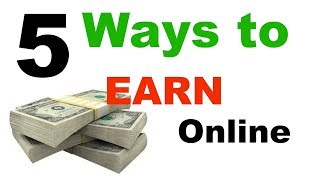 By this video you will know about how to make money online in hindi and best ways earn without investment.there are 5 way from h...