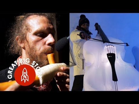 Making Instruments Out of Ice, Vegetables, and More