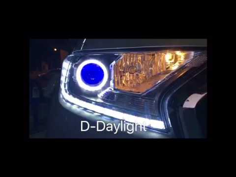 Ford Ranger mc Headlight D-Concept [daylight turn light step]