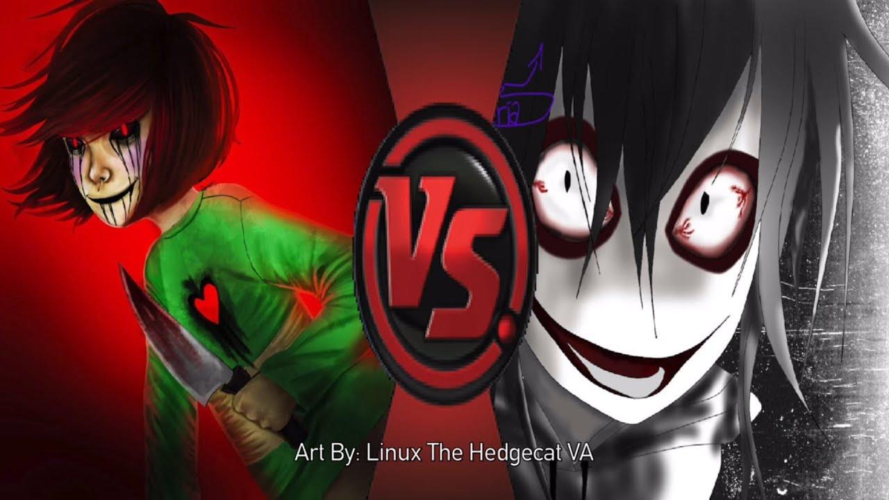 Download DJ Reacts to CHARA vs JEFF THE KILLER! (Undertale vs Creepypasta) Cartoon Fight Club Episode 93