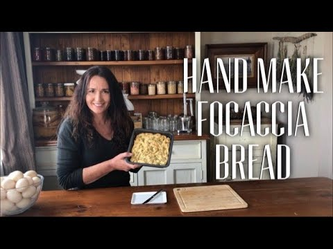 MAKING ROSEMARY FOCACCIA BREAD - Easy Home Made Bread Recipe