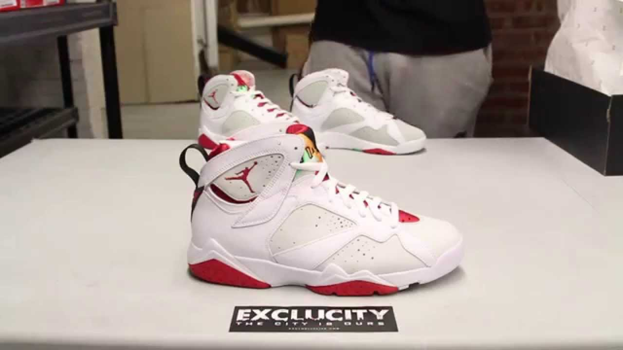new arrival 1f130 28871 ... where to buy air jordan 7 hare 2015 unboxing a44b8 ead98