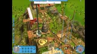 Rollercoaster Tycoon 3, Soaked!; Campaign, Map 8, Mountain Spring
