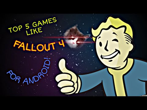 TOP 5 GAMES LIKE FALLOUT 4 FOR ANDROID!