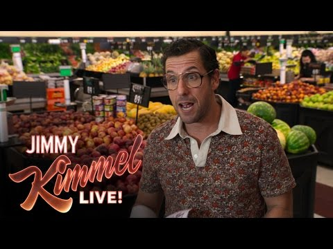 Adam Sandler on His New Film Sandy Wexler