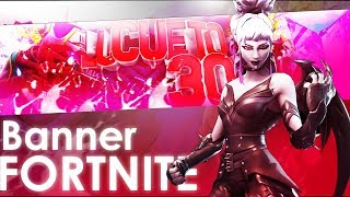 Speed Art | Fortnite Banner · Lucueto30 · ¿Quieres un banner? | Saintedtiv ✖Free Designs✖