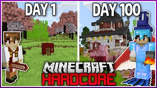 I Played Hardcore Modded Minecraft for 100 Days..