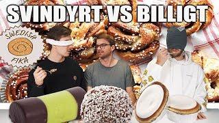 SVINDYRT VS BILLIGT. (SWEDISH FIKA EDITION)