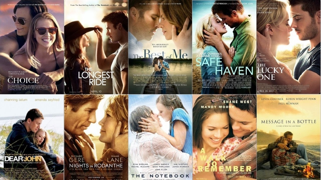 Nicholas sparks movies on netflix