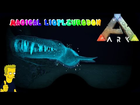 MAGICAL LIOPLEURODON TAME AND DEEP SEA LOOT DROP HUNTING ARK: Survival Evolved