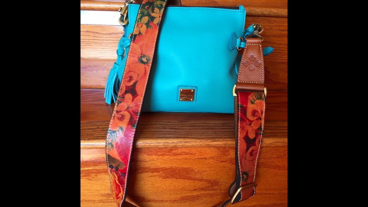 966065693 SHOW AND TELL* Patricia Nash Interchangeable Purse Strap - YouTube