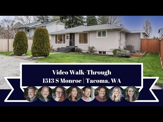 1513 S Monroe | Tacoma, WA | Video Walk-through