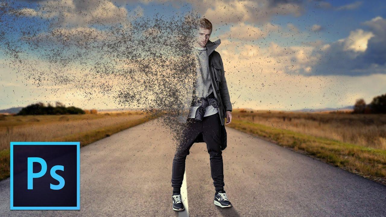 Dancer Disintegration Effect on Photoshop   Ampower