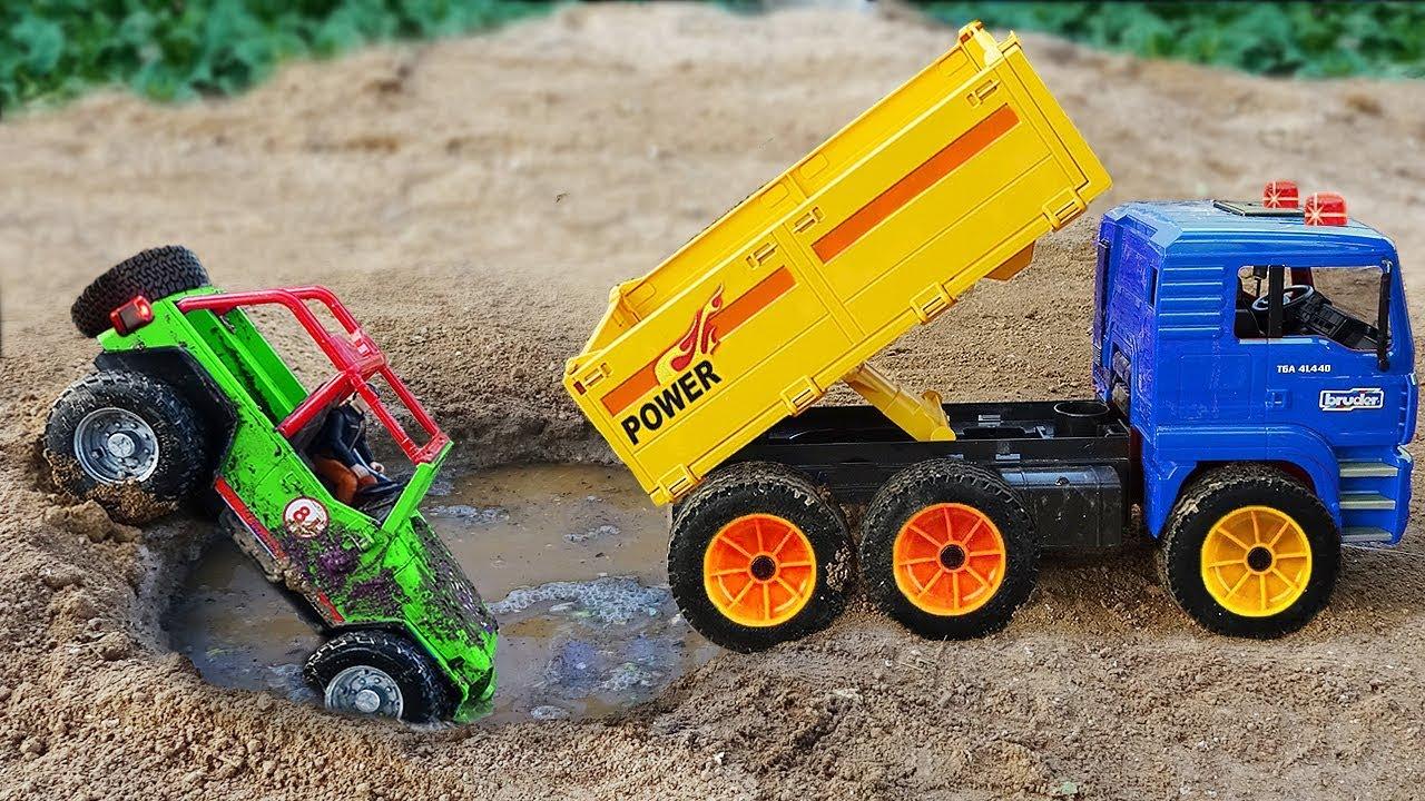 Fire Trucks, Dump Trucks, Excavator Rescue Cars Toys
