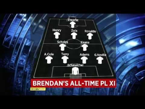 Brendan Rodgers All-Time PL XI ( No Gerrard !! )