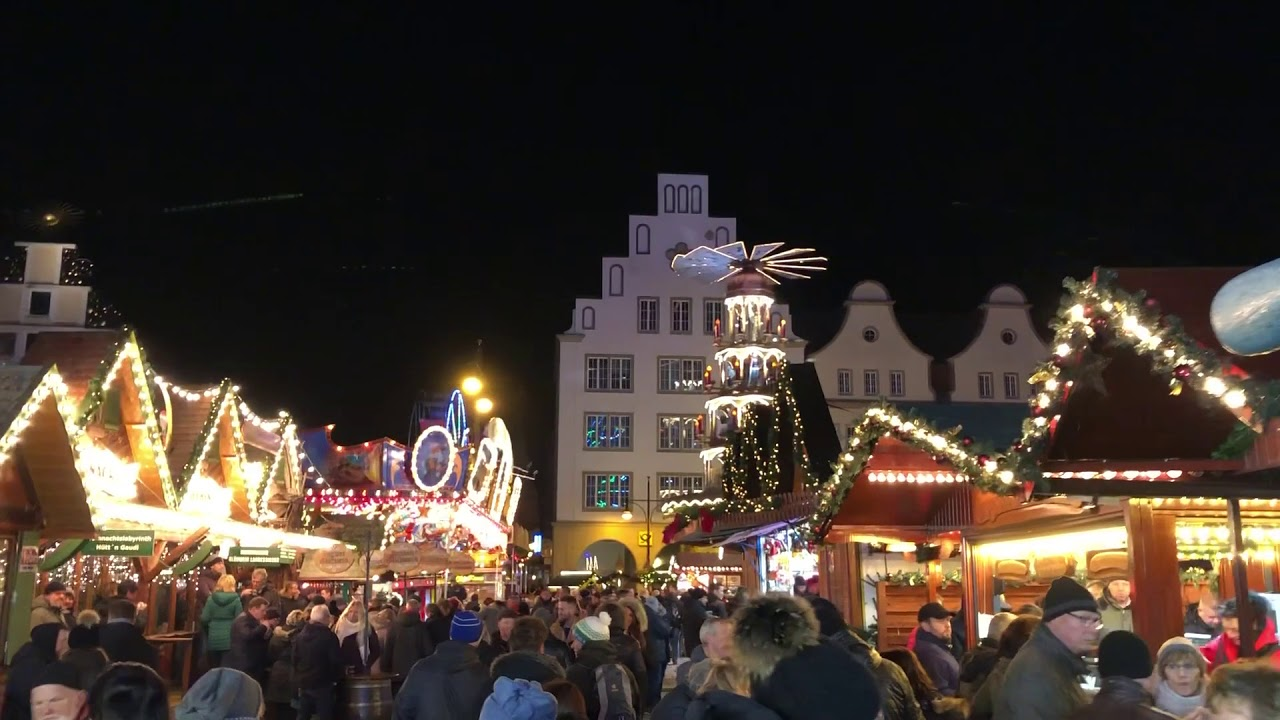 Weihnachtsmarkt In Rostock.Weihnachtsmarkt Rostock 2018