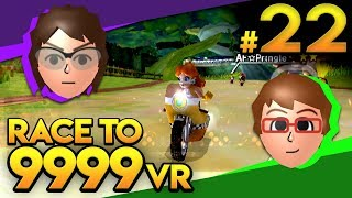 Mario Kart Wii - NEW TRACKS BABY! - Race To 9999 VR | Ep. 22