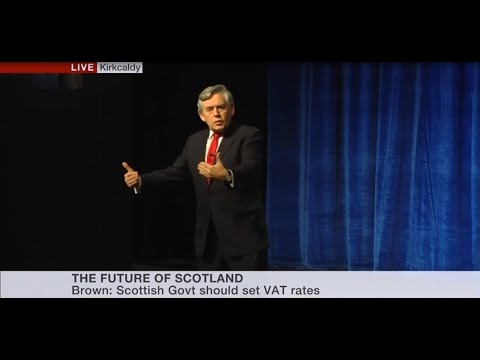 SNP Conference: Gordon Brown Setting Out 'Third Option' For Scotland | Full Speech