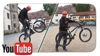 How To Bunny Hop - Auf einem Hardtail Mountain Bike   Essential MTB Skills