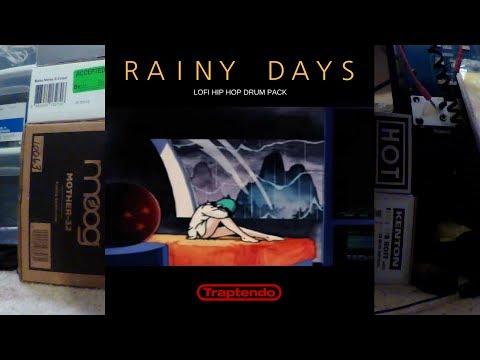 Free RAINY DAYS LOFI HIP HOP DRUM PACK and Short Trailer