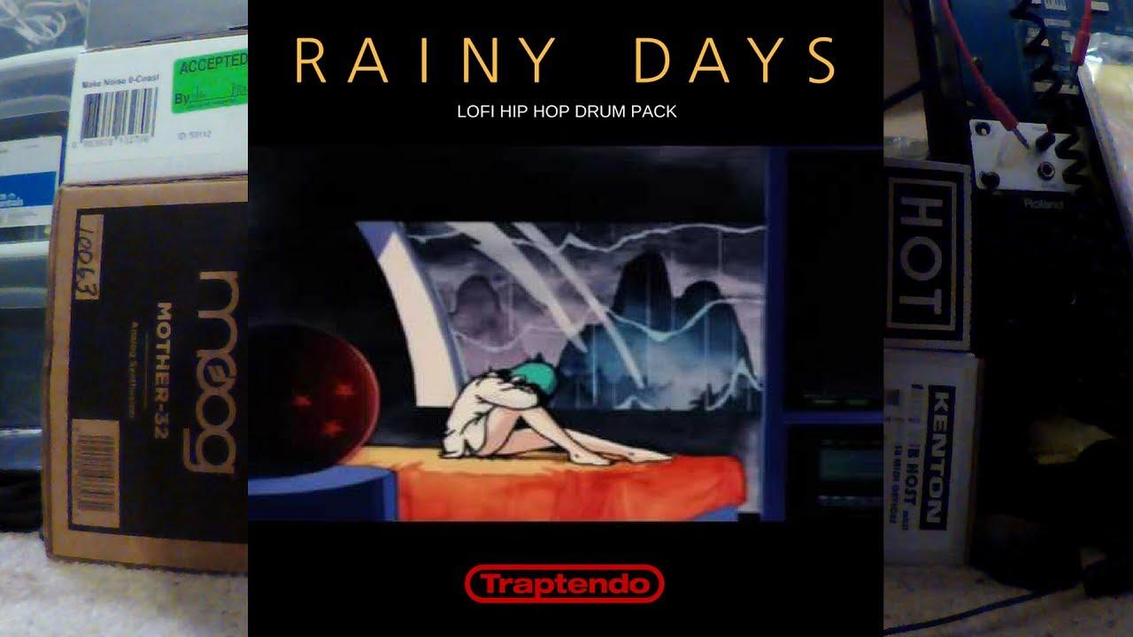 Free Download Friday | RAINY DAYS| LOFI HIP HOP DRUM PACK