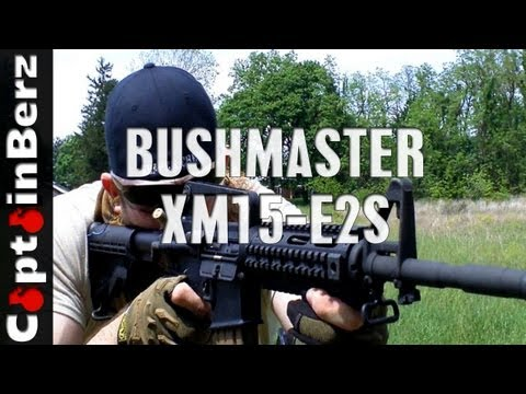 Bushmaster XM15-E2S AR-15 Range Review - YouTube