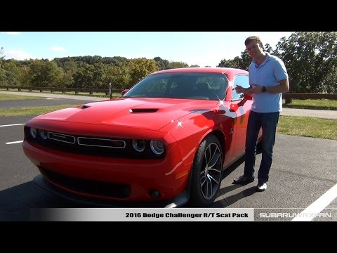 Review: 2016 Dodge Challenger R/T Scat Pack