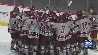 UMass Hockey Team To Play NCAA Frozen Four Game Without Four Players