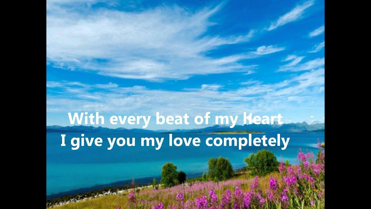 Übersetzung Ronan Keating - This I Promise You …