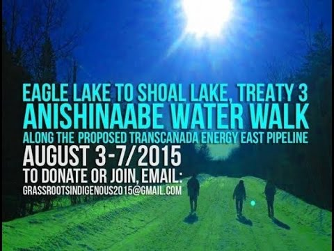 Treaty 3 Anishinaabe Water Walk