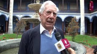 Tema: Mario Vargas Llosa y su reencuentro con la Decana de América