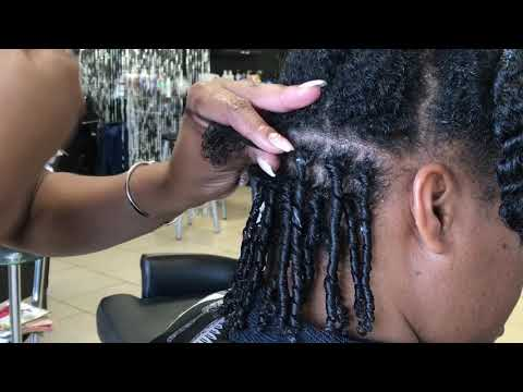 How To Do Finger Coils Tutorial|KeraCare Natural Textures Product Review|Natural Hairstyle Tutorial