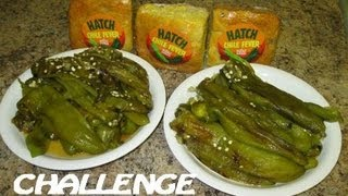 Crazy Roasted Hatch New Mexico Green Chile Challenge (4 Lbs Fresh Peppers)