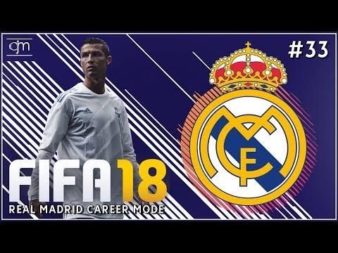 FIFA 18 Real Madrid Career Mode: Hujan Gol Cristiano Ronaldo #33 (Bahasa Indonesia)