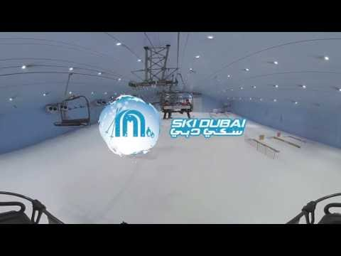 360º Video Ski Dubai Skiing Experience