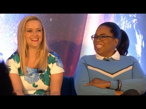 "Disney's ""A Wrinkle in Time"" FULL press conference with Oprah Winfrey, Reese Witherspoon, more"