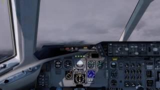 P3D DC-10 RCTP RWY05R Landing