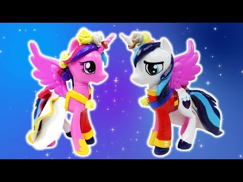 Princess Cadence Shining Armor Wedding Custom Split Pony Tutorial