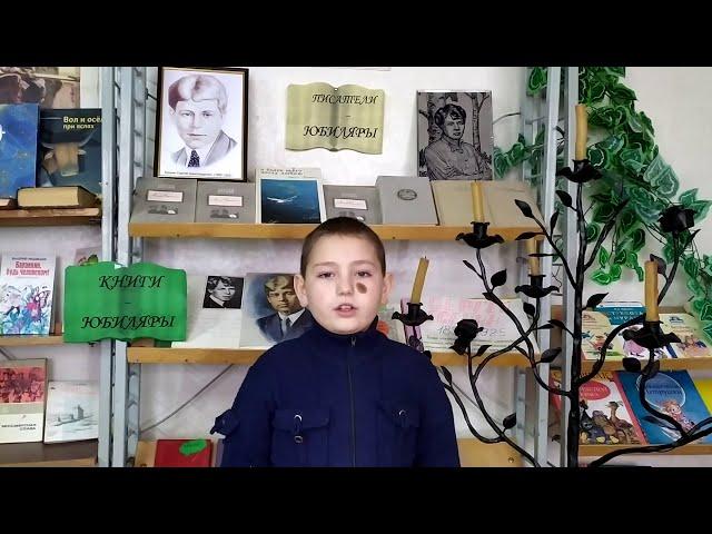 Изображение предпросмотра прочтения – ВикторБалабанов читает произведение «Берёза» С.А.Есенина