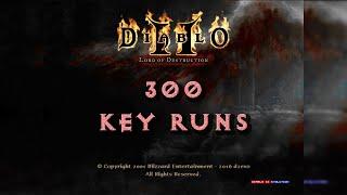 300 Key Runs no d2evo! Diablo 2 Lord of Destruction