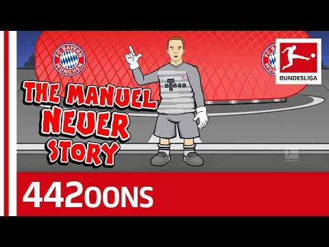 The Story Of Manuel Neuer  Powered  442oons