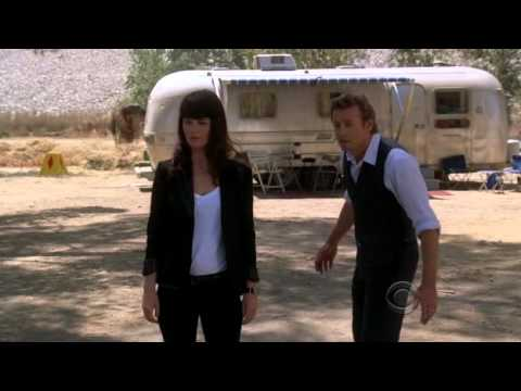 The Mentalist S03E02 Lisbon Moments 'How do I look like a cop?'