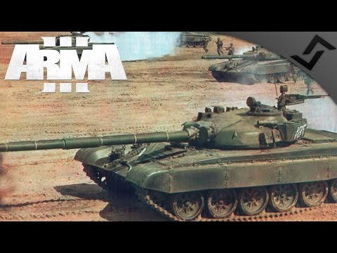 T-72 Supported Town Assault & Roadblock - ARMA 3 - Zeus Gameplay - Soviet-Afghan War