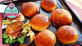 Yumuşacık Hamburger Sandviç Ekmeği / Okula İşyerine Götürmek İçin İdeal | Ayşenur Altan Tarifleri