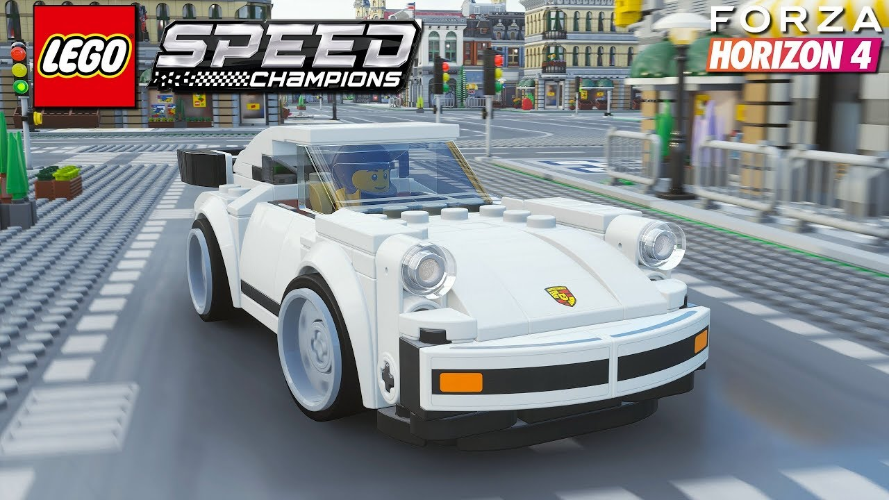 Forza Horizon 4 LEGO – Porsche 911 Turbo 3 0   Freeroam